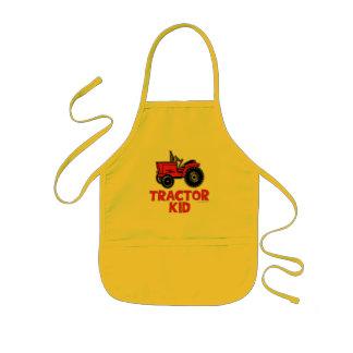 Tractor Kid Kids' Apron