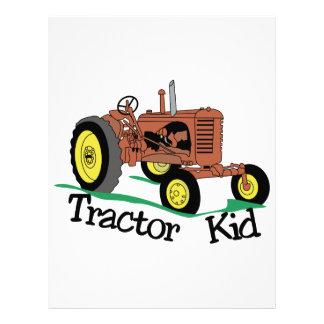 Tractor Kid Letterhead