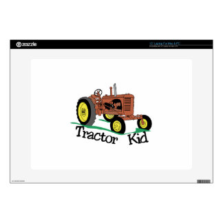 Tractor Kid Skin For Laptop