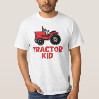 Tractor Kid T Shirt