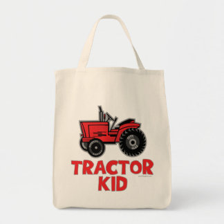 Tractor Kid Tote Bag