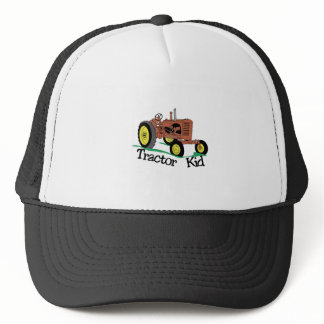 Tractor Kid Trucker Hat
