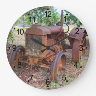 Tractor Large Clock