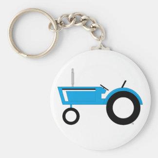 Tractor Llavero Redondo Tipo Pin