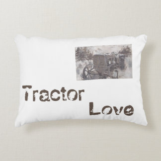 Tractor Love Accent Pillow