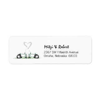 Tractor Love Address Label