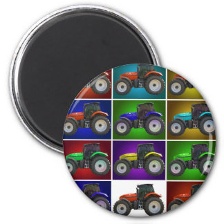 tractor 2 inch round magnet
