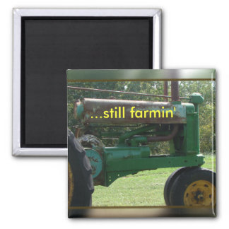 tractor magnet-customize magnet