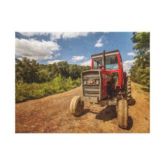 Tractor Man Canvas