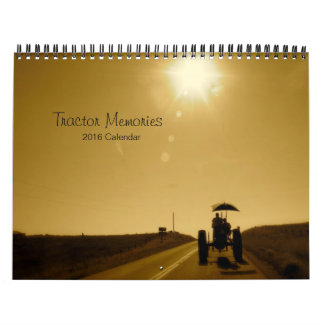 Tractor Memories Calendar: Customize Year Calendar