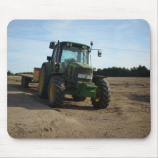 tractor mouse pad