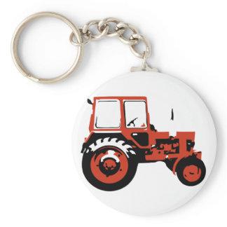 Tractor MTZ Keychain