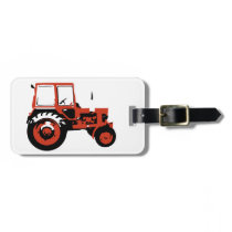 Tractor MTZ Luggage Tag