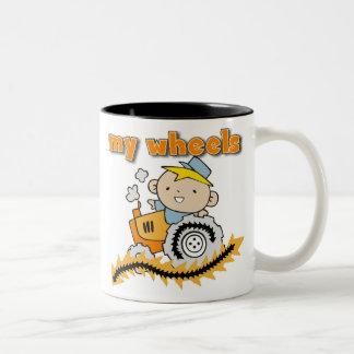 Tractor My Wheels Mug