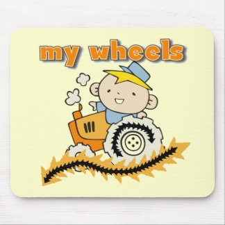Tractor My Wheels Tshirts and Gifts Mouse Pad