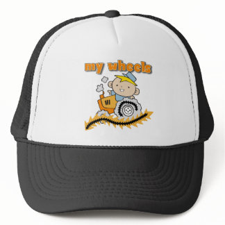 Tractor My Wheels Tshirts and Gifts Trucker Hat