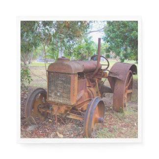 Tractor Napkin