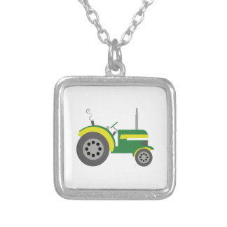 Tractor Personalized Necklace