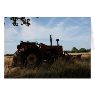 Tractor Notecard