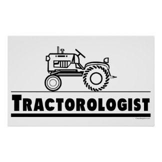 Tractor Ologist Póster