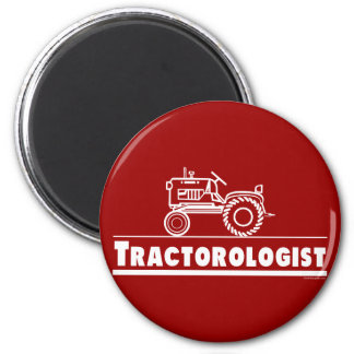 Tractor Ologist RED Magnet