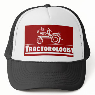 Tractor Ologist RED Trucker Hat