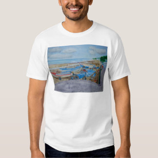 Tractor on Cromer Beach, East Coast T Shirt