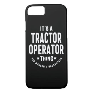 Tractor Operator Job Title Gift iPhone 8/7 Case