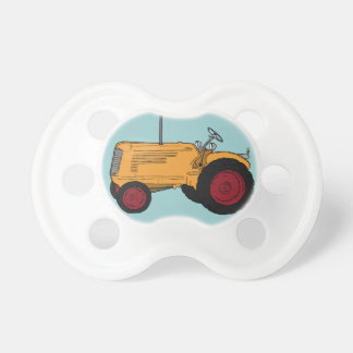 Tractor Baby Pacifiers