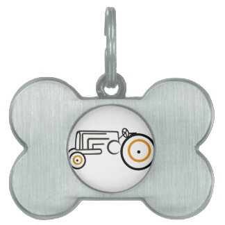 Tractor Pet ID Tag