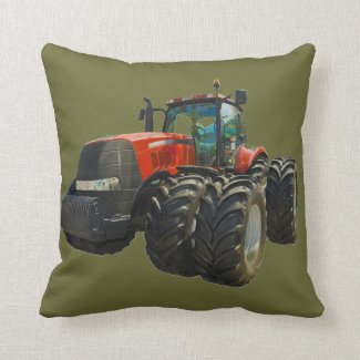tractor pillow
