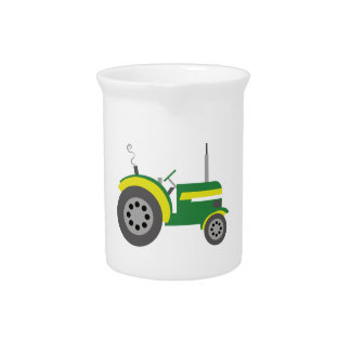 Tractor Beverage Pitchers