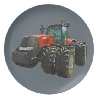 tractor plate