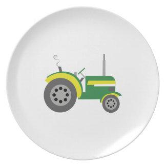 Tractor Plato De Cena