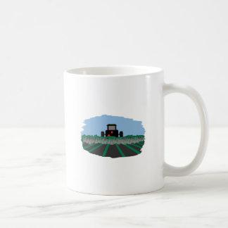 Tractor Plowing Fields Coffee Mug