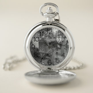 Tractor Pocket Watch