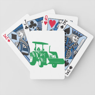 Tractor Poker Cards