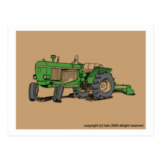 tractor postales