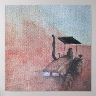 Tractor Print