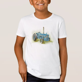 Tractor Print on Kid's Organic American Apparel T-Shirt