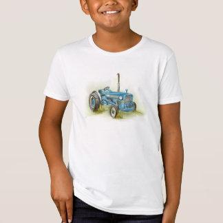 Tractor Print on Kid's Organic American Apparel T-Shirt