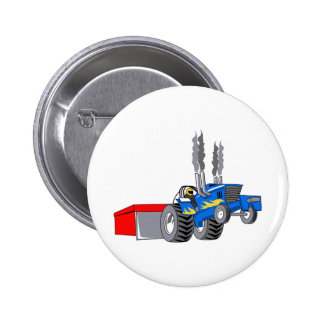 TRACTOR PULL PINBACK BUTTONS