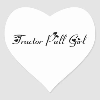 Tractor Pull Girl Tractor Gifts By Gear4gearheads Sticker
