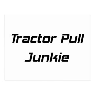 Tractor Pull Junkie Tractor Gifts By Gear4gearhead Postcard