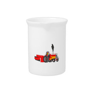 TRACTOR PULL BEVERAGE PITCHER