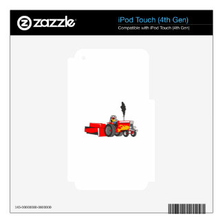 TRACTOR PULL iPod TOUCH 4G SKIN