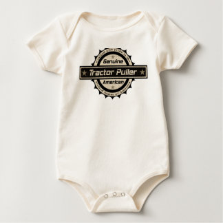 Tractor Puller Baby Bodysuit