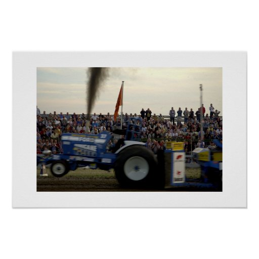 Tractor Pulling #2 Poster