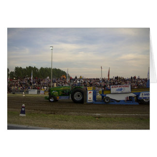 Tractor Pulling #3 Card