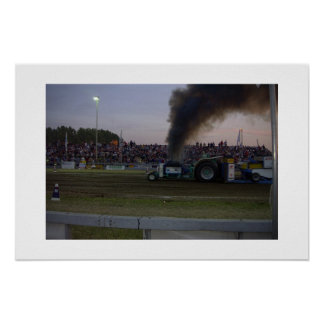 Tractor Pulling #3 Poster